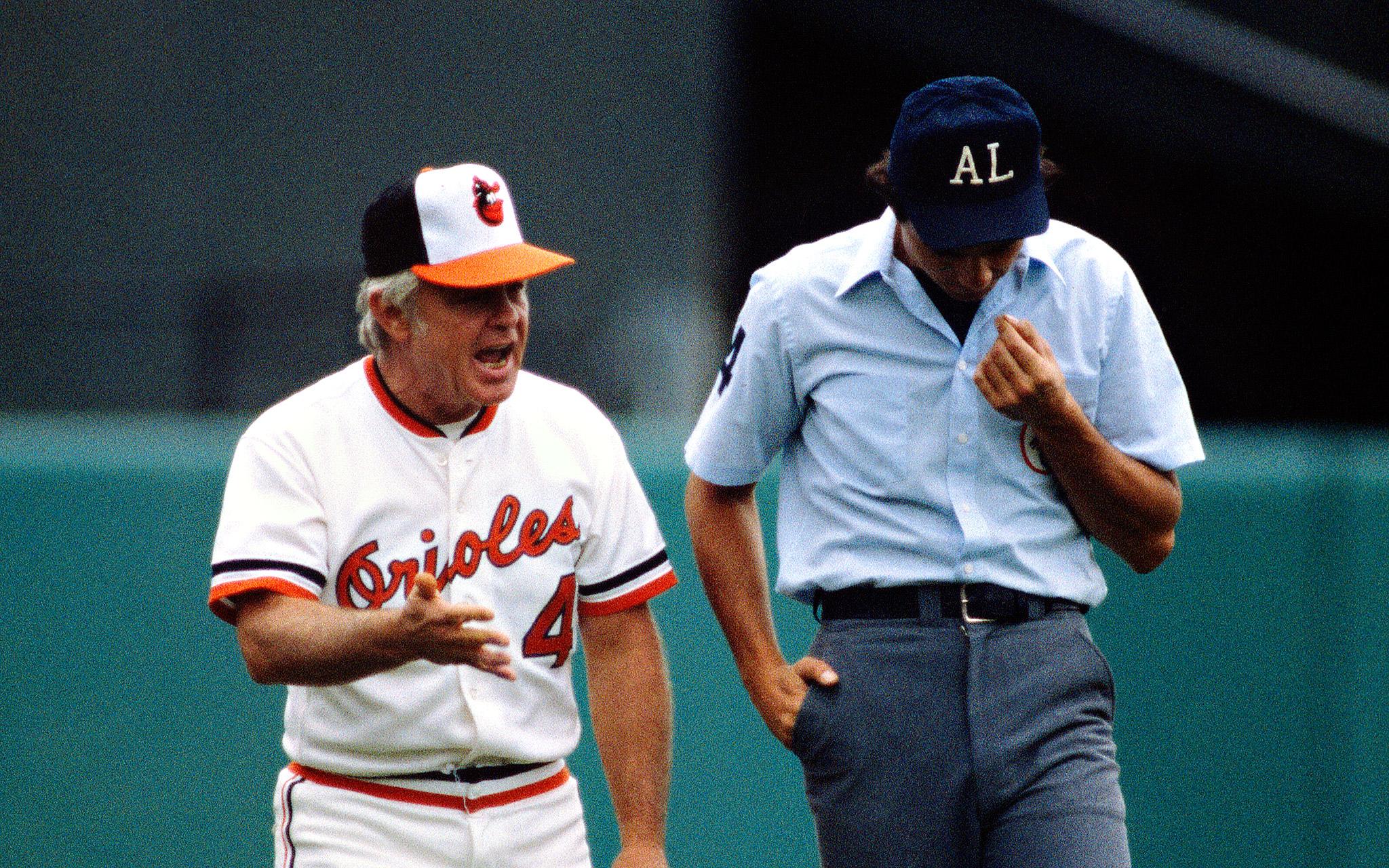 Sept 17 1980 Earl Weaver Memorable Baseball Meltdowns
