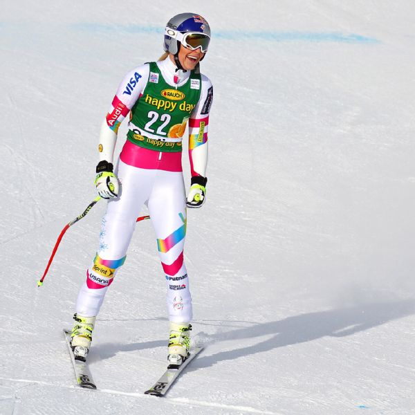 Lindsey Vonn won the super-G on January 19 to stand alone atop the list with win No. 63.