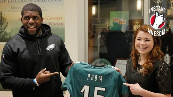 Philadelphia Eagles linebacker Emmanuel Acho makes good on ...