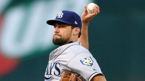 In return to majors, Rays' Nathan Eovaldi pulled early ...