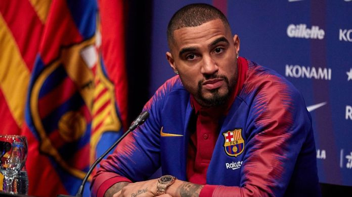 Kevin Prince Boateng has joined Barcelona on loan from Sassuolo, with an option to make the deal permanent