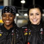 Brehanna Daniels Breanna O Leary Make The Big Time And Are Set To Make History As Pit Crew Members For Daytona 500
