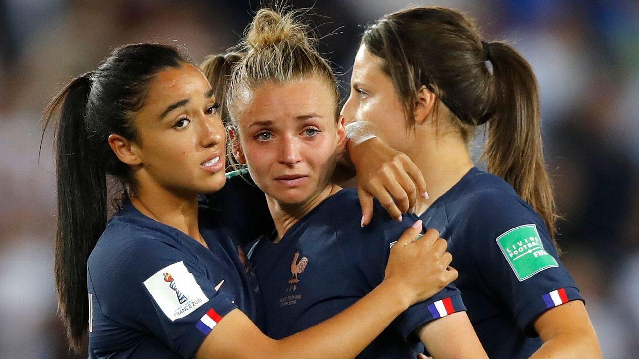 Zoe samuel 7 min quiz iri. France S Women S World Cup Run Again Ends In Heartbreak