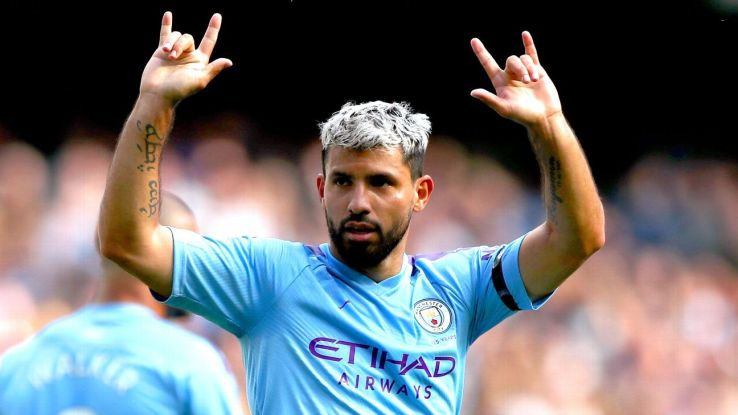 Aguero, De Bruyne 8/10 as Man City fire four past overmatched Brighton