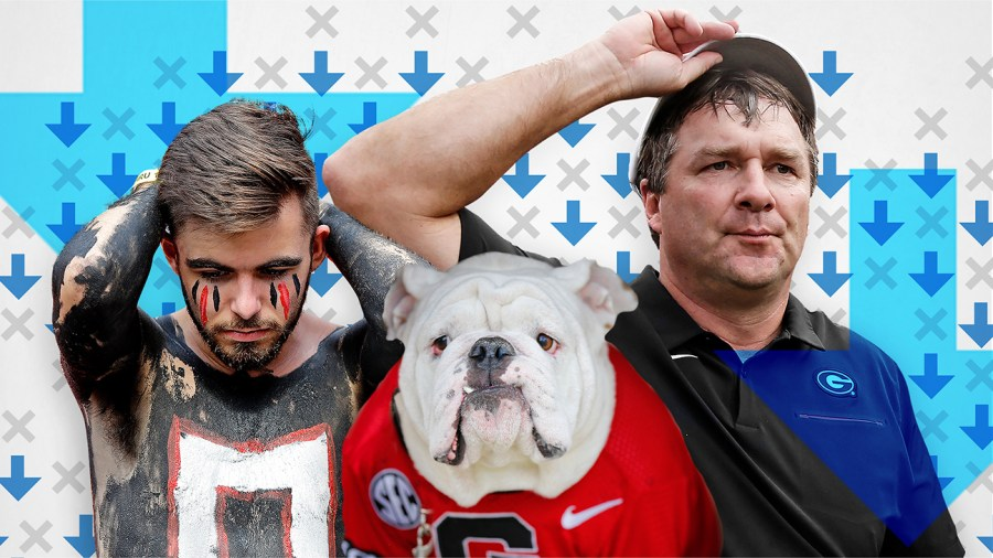 Georgia's stuck in the doghouse of the Bottom 10