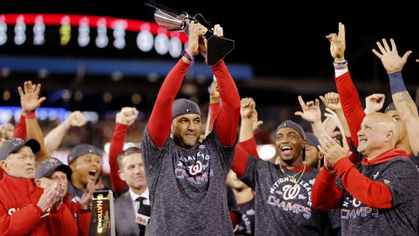 What does the Nats' sweep mean for the World Series?