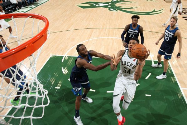 Giannis: 'Scary how good' Milwaukee can be
