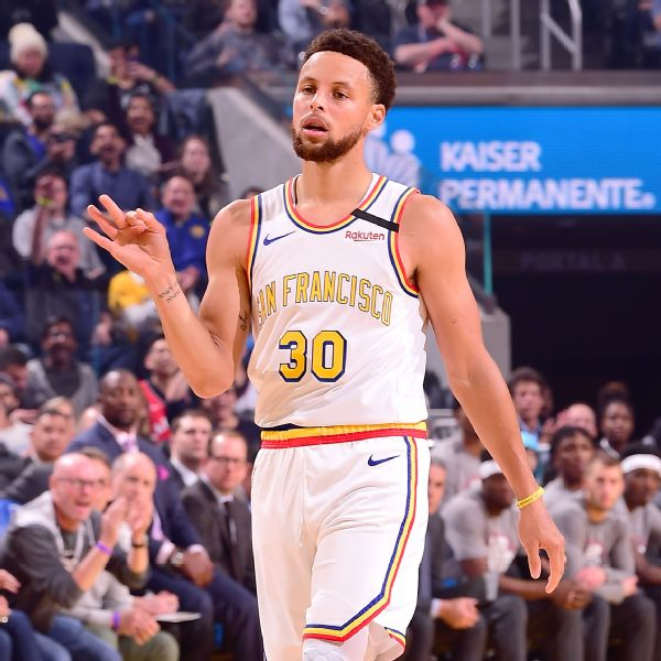 Curry drops 53, tops Wilt as Dubs' scoring leader