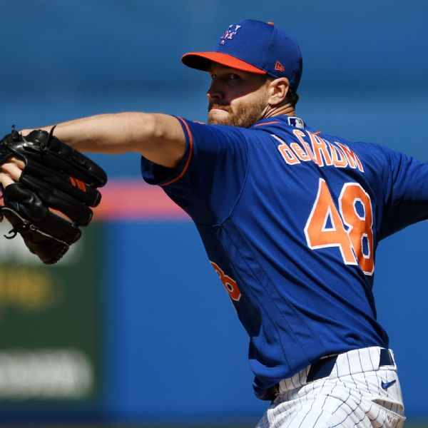 Mets will get deGrom back from IL on Tuesday