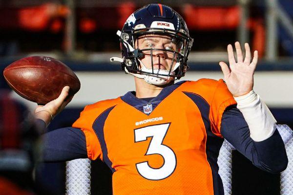 Broncos GM Paton 'high' on Lock, still eyeing QB