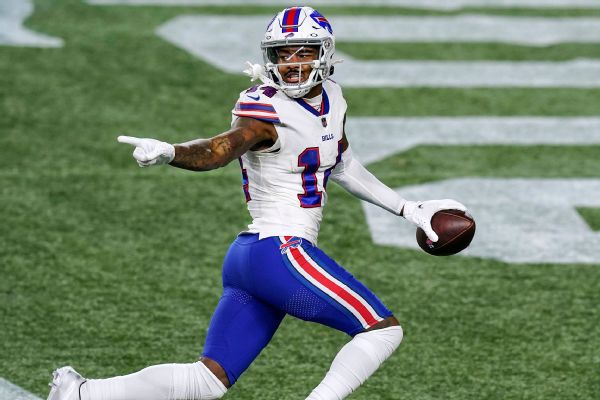 Source: Bills restructure contract of WR Diggs