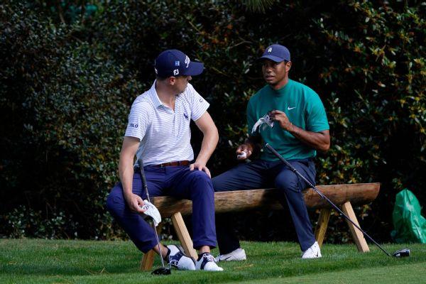 Thomas: Tiger 'bummed' not to be at Masters