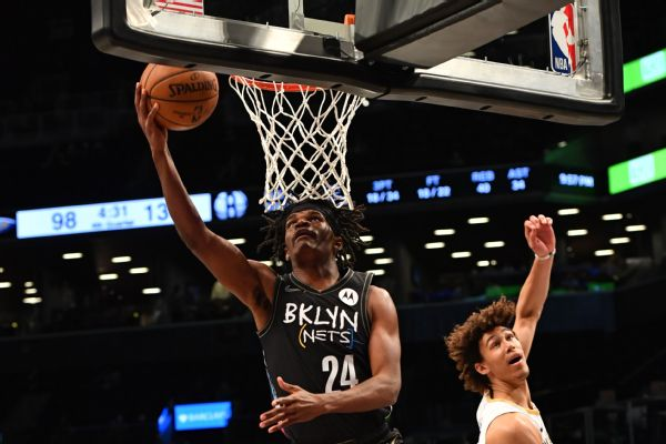 Agent: Johnson agrees to .1M deal with Nets