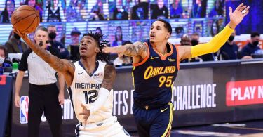Ja, Grizz into playoffs after ousting Warriors in OT