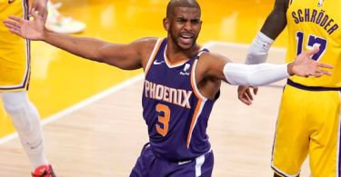 'It is what it is': Playoff injuries haunt Chris Paul vs. Lakers