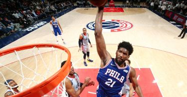 Embiid chides Wiz for not doubling as Sixers roll