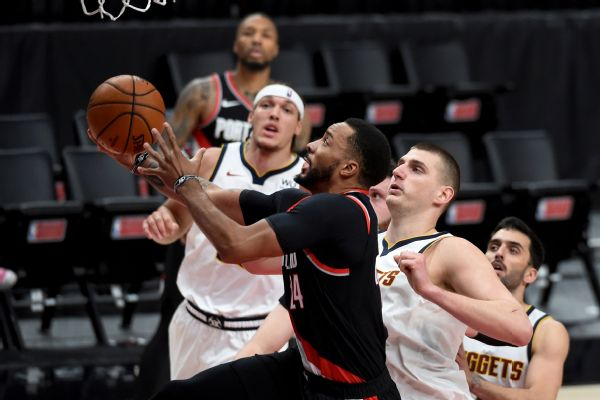 Malone: Nuggets 'played soft' in loss to Blazers