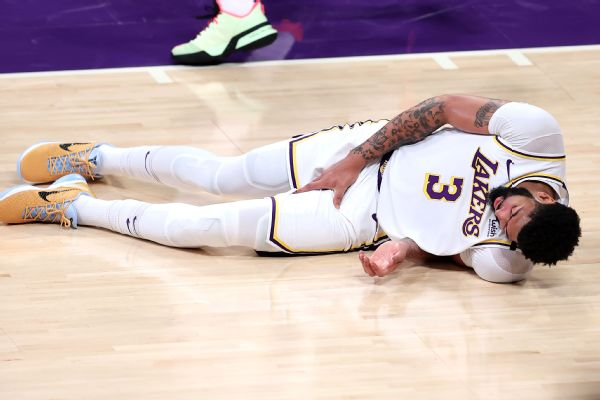 Lakers' Davis (groin) questionable for Game 5