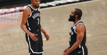 Nets' Harden ruled out with hamstring injury
