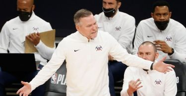 Malone on blowout loss: Nuggets 'quit tonight'