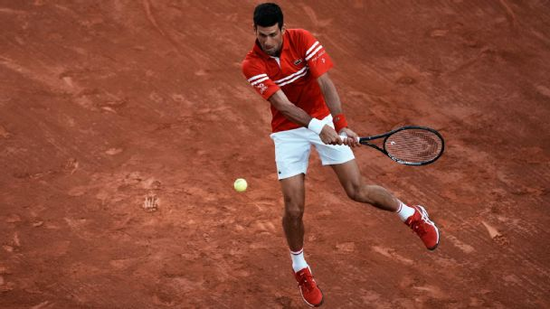 Novak Djokovic serves up one of his best-ever matches to oust Rafa Nadal in semis stunner