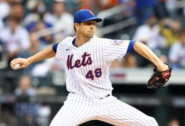 Mets' deGrom cleared to start vs. Braves Monday