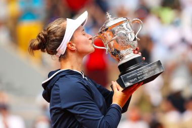 Unseeded Krejcikova wins French women's title
