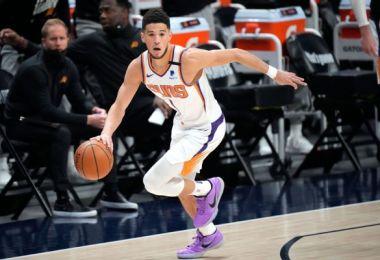 Booker rewards Suns fan after fracas in Denver
