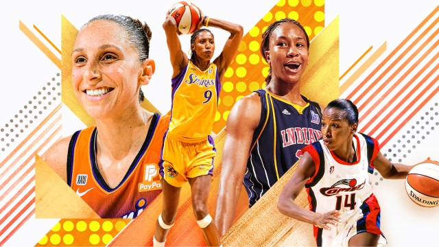Ranking the 25 greatest players in WNBA history