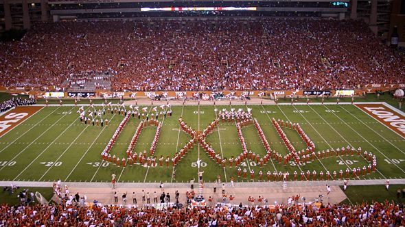 University of Texas Football Game - Longhorn Band