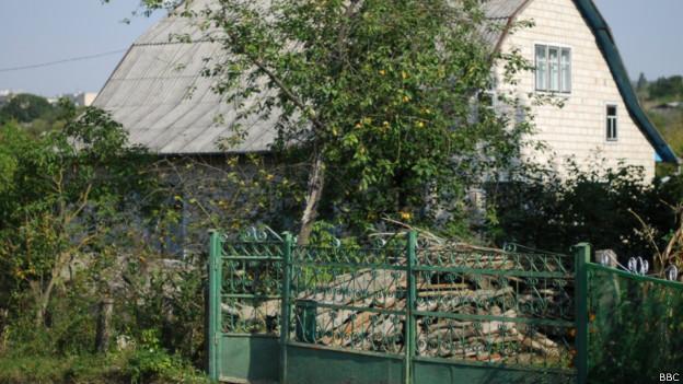 будинок батьків Ігоря Плотницького