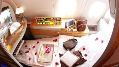 silla de primera clase Emirates