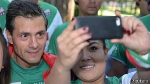 Presidente de México Enrique Peña Nieto