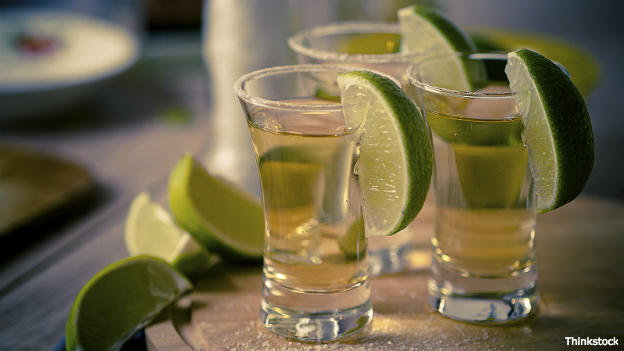 Shots de tequila