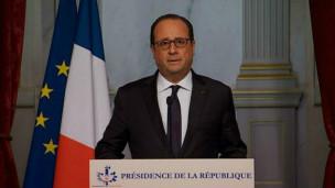 Presidente de Francia, Francois Hollande