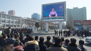 Ri Chun-hee lleva una larga carrera presentando noticias en Corea del Norte.