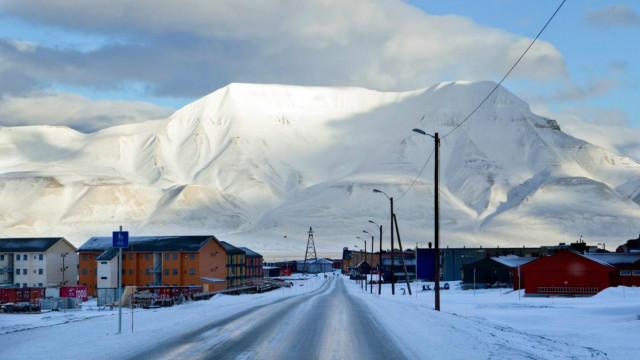Longyearbyen, en Noruega