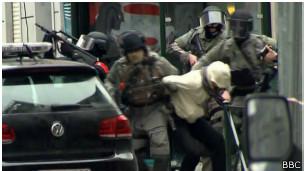 Así fue la captura de Salah Abdeslam el viernes en Bruselas.