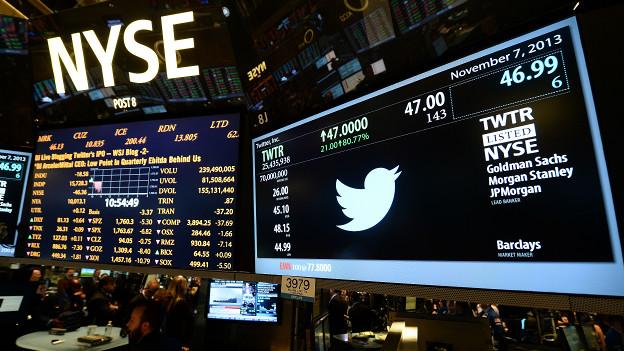 Twitter en la bolsa