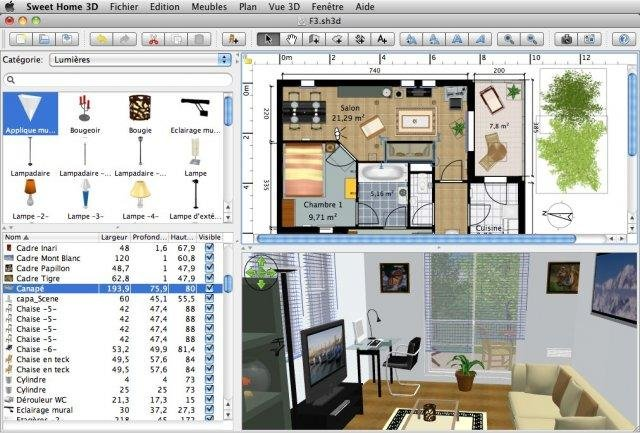 Once you uncompressed this archive in a given folder (on a hard disk or a usb key), you can move this folder or the usb key where you copied it to use sweet home 3d on another computer, without losing software configuration. Sweet Home 3d Download Sourceforge Net