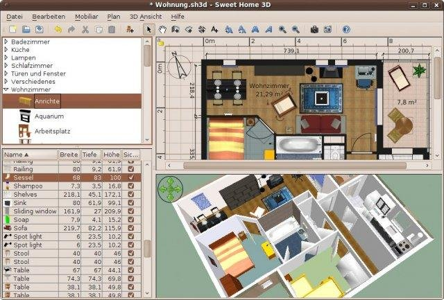 Mar 03, 2021· sweet home 3d full is an easy to learn interior design application that helps you draw the plan of your house in 2d, arrange furniture on it and visit the results in 3d. Sweet Home 3d Download Sourceforge Net