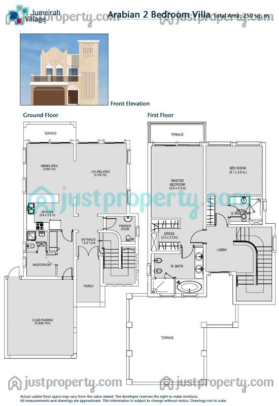 JVT Villas Floor Plans
