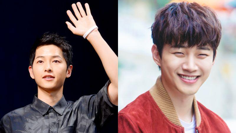 宋仲基為JTBC《只是相愛的關係》劇組送上零食車 應援好友李俊昊 - KSD 韓星網 (明星)