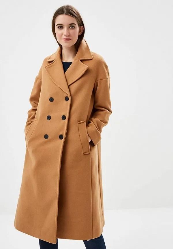 Коричневое Женское Пальто Фото