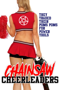Poster do filme Chainsaw Cheerleaders