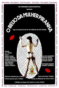 Poster do filme O Beijo da Mulher Piranha