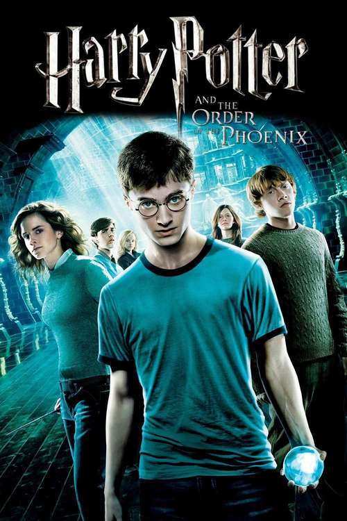 movie poster for The Order of the Phoenix