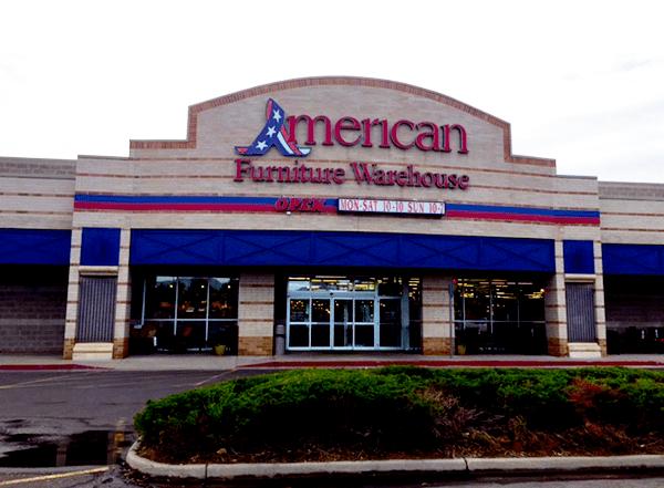 American Furniture Warehouse In Lakewood CO 80123