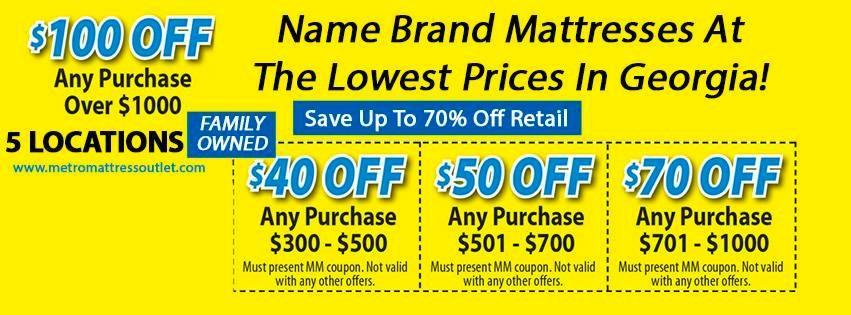 Metro Mattress In Athens GA 30606
