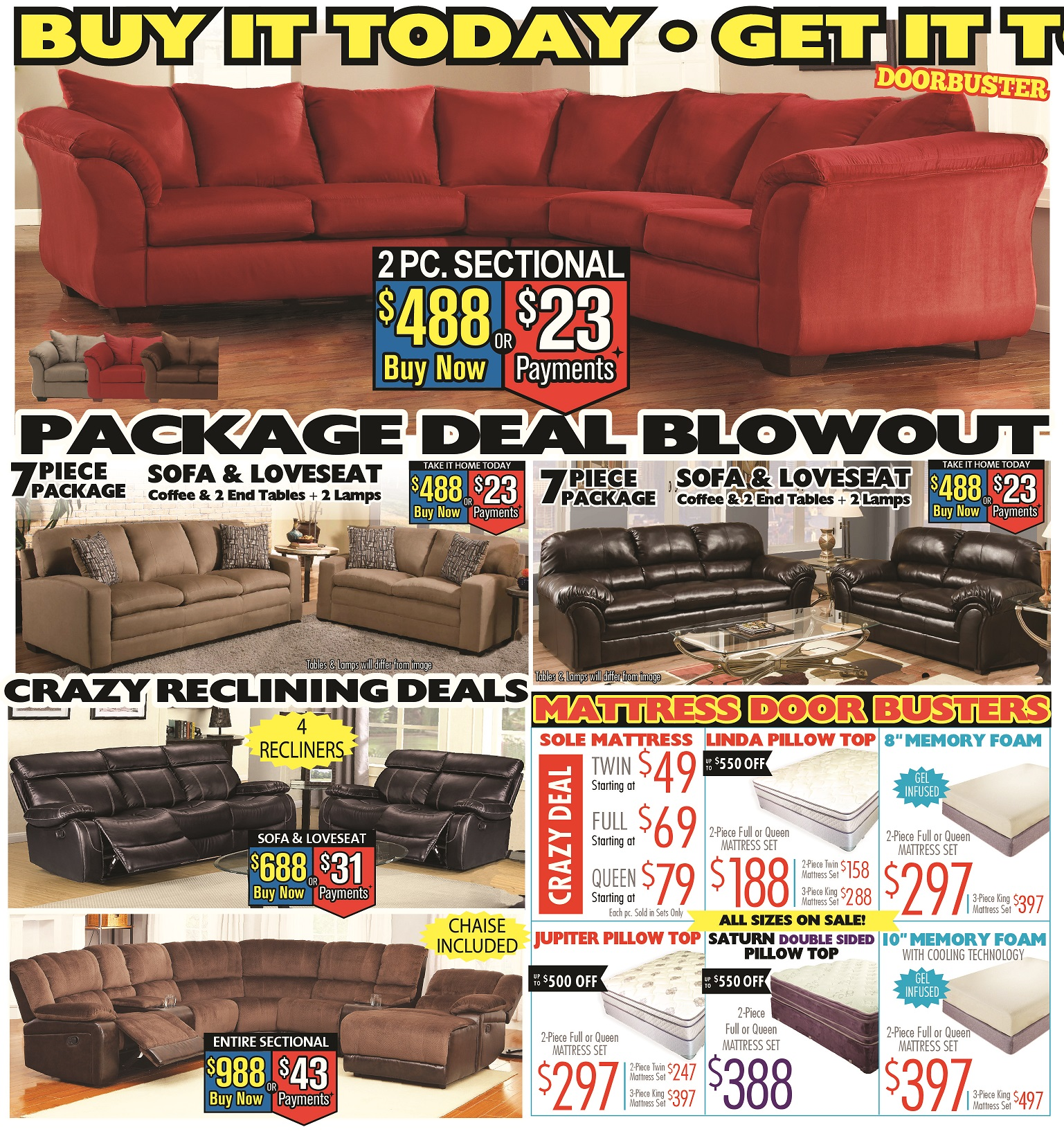 Price Busters Discount Furniture Forestville Maryland MD